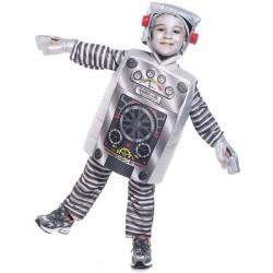Fantasia Infantil Robô Carnaval Halloween Festa a Fantasia