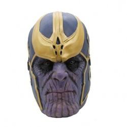 Máscara Fantasia Thanos Vingadores Guerra Infinita Halloween Cosplay Carnaval
