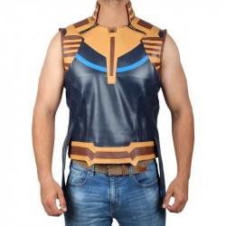 Fantasia Masculina Colete Thanos Vingadores Guerra Infinita Carnaval Halloween