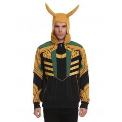 Blusa Moletom Fantasia Masculina Loki Marvel Carnaval Halloween