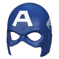 Máscara Fantasia Adulto Capitão América Marvel Halloween Carnaval
