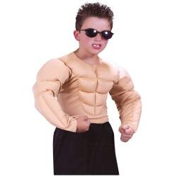 Fantasia Infantil Menino Musculoso Halloween Carnaval