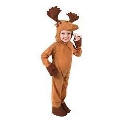 Fantasia Infantil Alce Animais Halloween Carnaval Importada