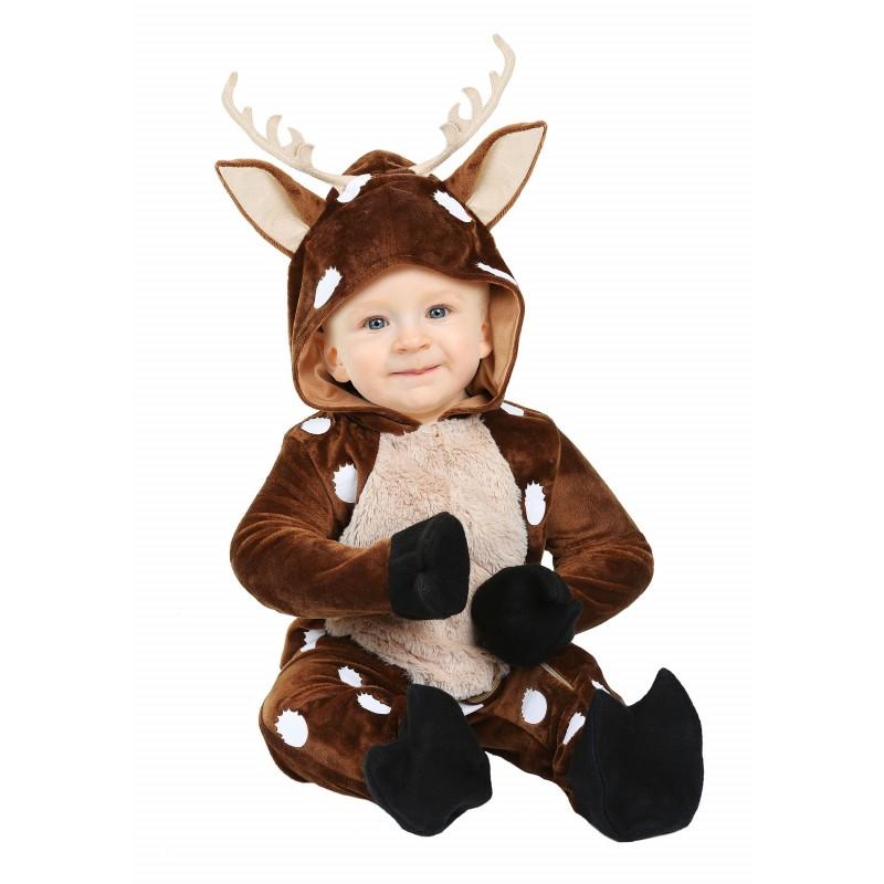 Fantasia Infantil Animais Veado Bebês Halloween Carnaval