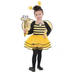 Fantasia Infantil Bailarina Abelha Halloween Carnaval