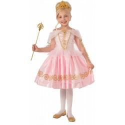 Fantasia Infantil Bailarina Princesa Meninas Halloween Festa Importada