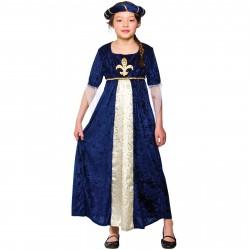 Fantasia Infantil Medieval Menina Halloween Carnaval Festa Importada