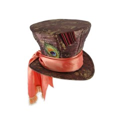 Chapéu Steampunk Feminino Top Hat Halloween Carnaval Cosplay