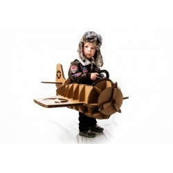 Fantasia Infantil Piloto de Avião Halloween Carnaval