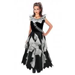 Fantasia Infantil Rainha da Beleza Zumbi Halloween Carnaval Festa Importada