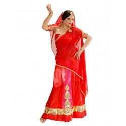 Fantasia Feminina Diva de Bollywood Indiana Carnaval Halloween