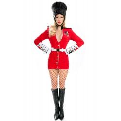 Fantasia Feminina Guarda Real Londres Sexy Carnaval Halloween