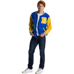 Fantasia Masculina Archie Riverdale Traje Colegial Halloween Carnaval