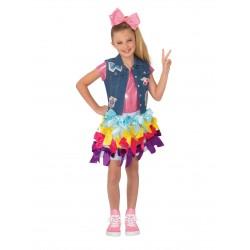 Fantasia Infantil JoJo Siwa Cantora Dançarina Halloween Carnaval