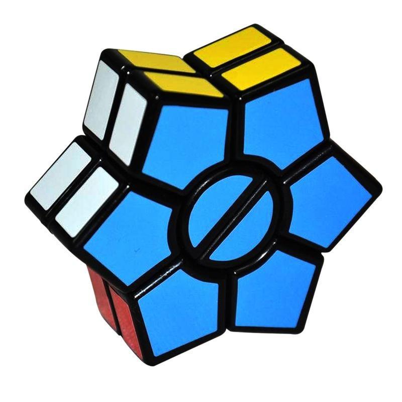 Cubo mágico Hexagonal QI Desafio Geek Presente
