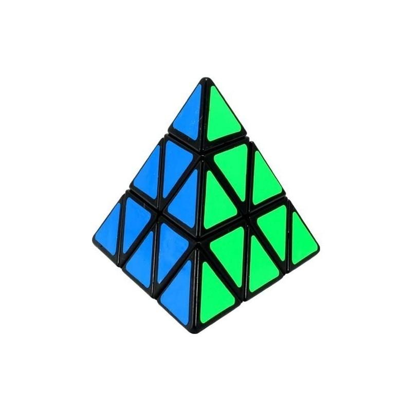 Cubo mágico Pirâmide Puzzle QI Desafio Geek Presente