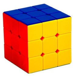 Cubo Mágico Colorido sem Bordas Desafio Geek