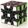 Cubo Mágico Engrenagens Base Preta Desafio Geek