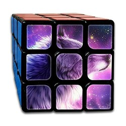 Cubo Mágico Com Imagem 3x3x3 Lobo Desafio QI Geek