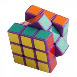 Cubo Mágico Base Roxa 3x3x3 Lobo Desafio QI Geek