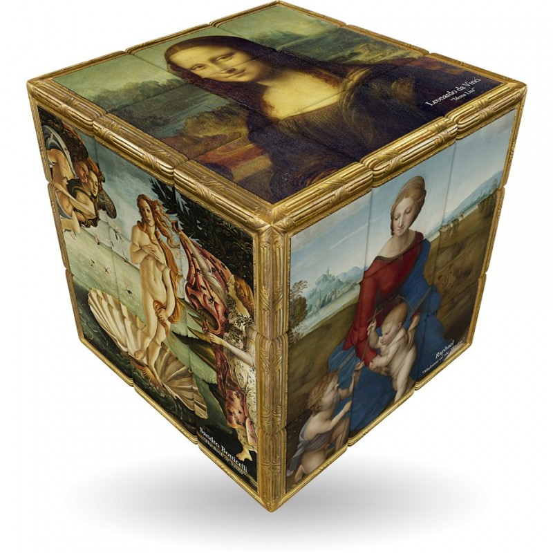 Cubo Mágico Obras de Arte Renascença Desafio Geek