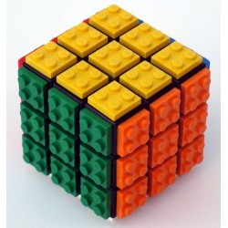 Cubo Mágico Lego Rubik's Cube Desafio Geek