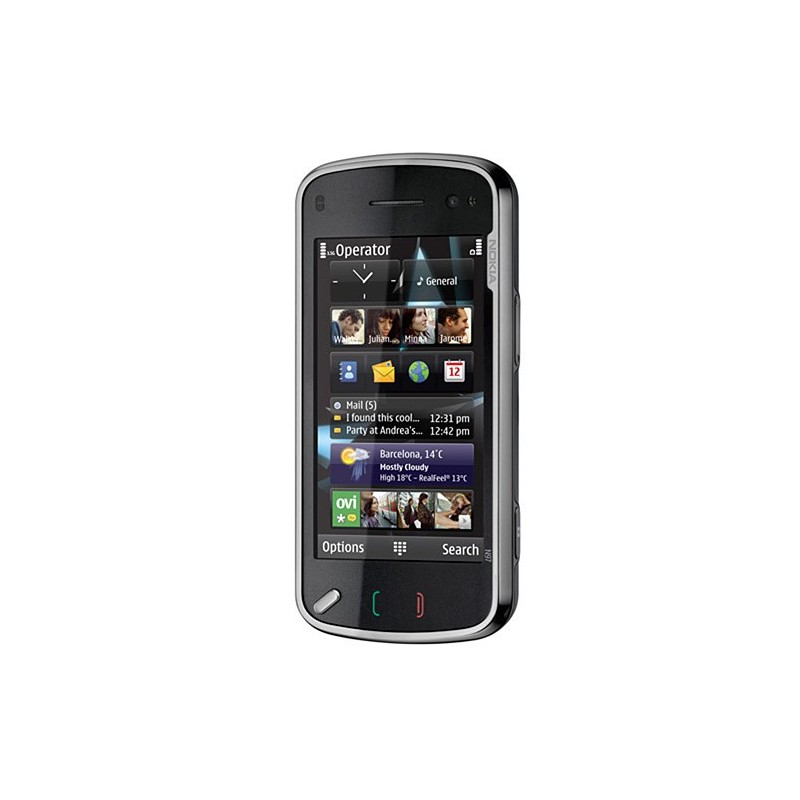 Nokia N97 Preto - GSM Wi-Fi 3G GPS TouchScreen Teclado Qwerty Câmera 5.0MP Rádio FM 32GB