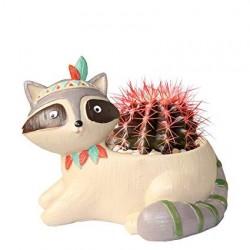 Vasinho para Plantas Suculentas ou Cactus Formato de Gatinho