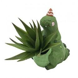 Vasinho Dinossauro para Plantas Suculentas ou Cactus