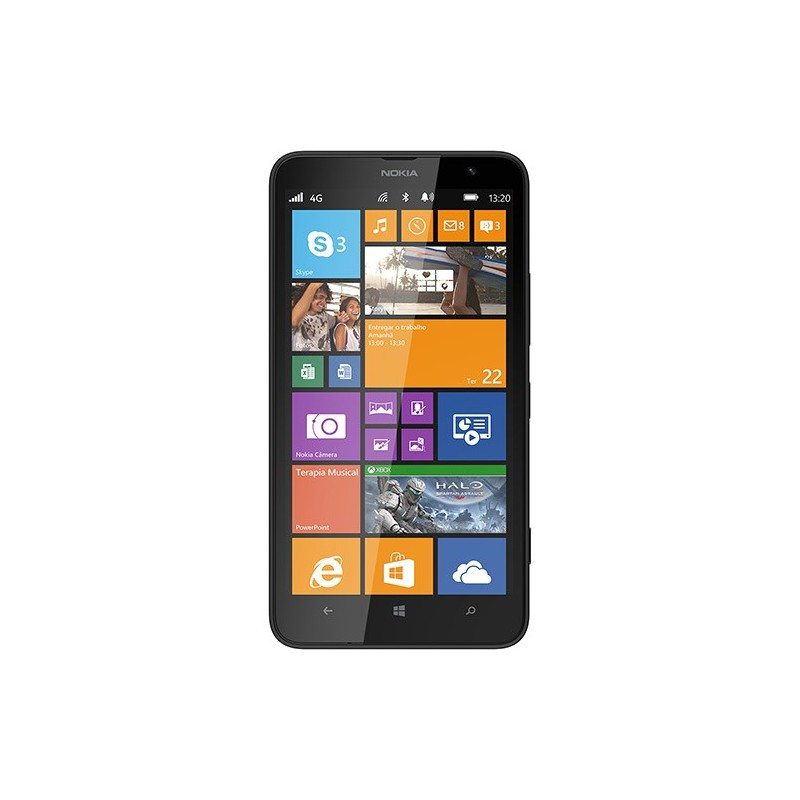 Smartphone Nokia Lumia 1320 Preto Windows Phone 8 4GB Câmera 5MP 8GB