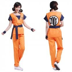 Fantasia Feminina Goku...