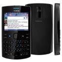 Celular Nokia Asha 205 Preto com Dual Chip Câmera VGA Teclado QWERTY Rádio FM MP3 e Fone de Ouvido