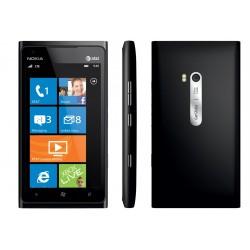 "Smartphone Nokia Lumia 900 Preto - GSM Tela Curva 4.3"" AMOLED Windows Phone 7.5 3G Wi-Fi Câmera 8MP Memória 16GB"