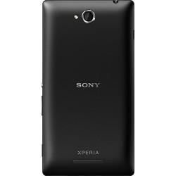 Smartphone Sony Xperia C Preto Android 4.2 3G/Wi-Fi Câmera 8MP 4GB