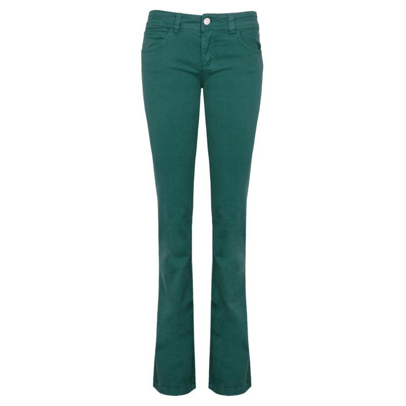 Calça Feminina Sarja Flare Verde