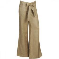 Calça Feminina Pantalona Nude Bege
