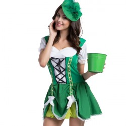 Fantasia Feminina Irlandesa...