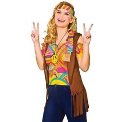 Fantasia Feminina Hippie...