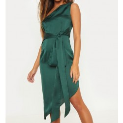 Vestido Cetim Verde...