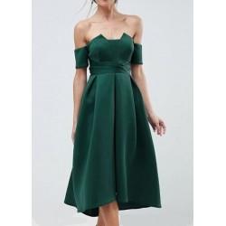 Vestido Festa Médio Verde...