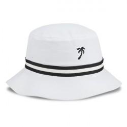 Chapéu Bucket Hat Branco Praia