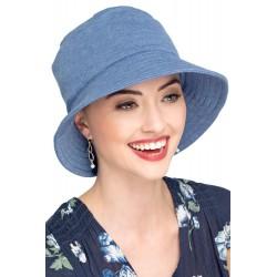 Chapéu Bucket Hat Azul Liso