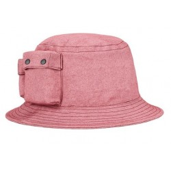 Chapéu Bucket Hat Rosa com...