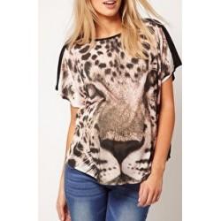 Blusa Feminina Estampa Tigre