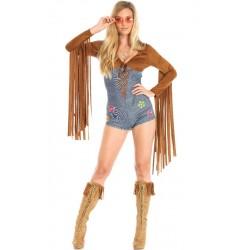 Fantasia Hippie Jeans para...