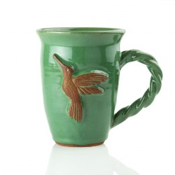 Caneca chá na cor verde com...