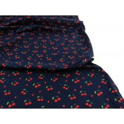 Tecido estampado cerejas...
