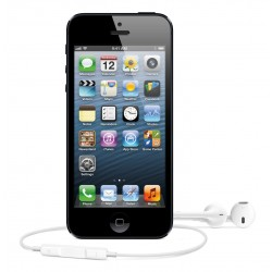 "Apple iPhone 5 64GB Desbloqueado Tela Retina 4"" 8MP IOS6 - Preto"