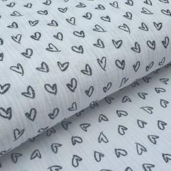 Tecido branco 100% algodão...