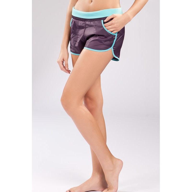 Bermuda Shorts Feminino Moda Fitness Corrida